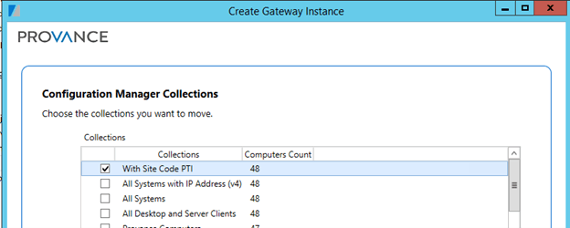 Configuration Manager Collection